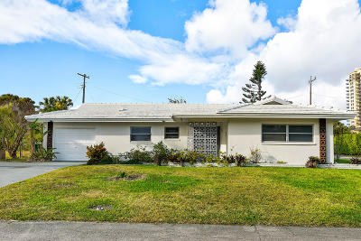 Riviera Beach Single Family Home For Sale: 1280 Singer Drive