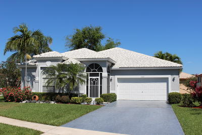 Boynton Beach Single Family Home For Sale: 5887 Seashell Terrace
