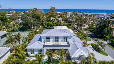 Broward County, Palm Beach County Single Family Home For Sale: 1209 Harbor Drive