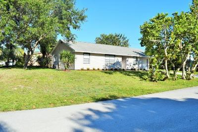 Jensen Beach Single Family Home For Sale: 2177 NE 18th Avenue