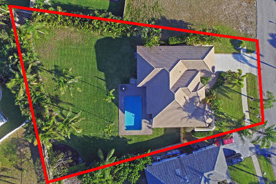 Tequesta Single Family Home Contingent: 525 Cypress Drive