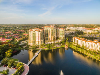 Palm Beach Gardens Condo For Sale: 3630 Gardens Parkway #804c