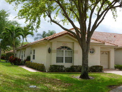Boynton Beach Single Family Home For Sale: 2708 Quaking Leaf Lane