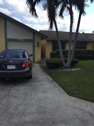 Boca Raton Single Family Home For Sale: 7956 Love Lane