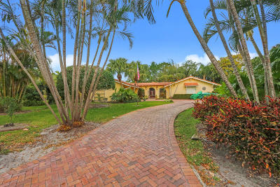 Tequesta Single Family Home For Sale: 7 Loggerhead Lane