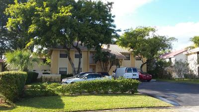 Coral Springs Multi Family Home For Sale: 3550 NW 114th Lane #3550-355