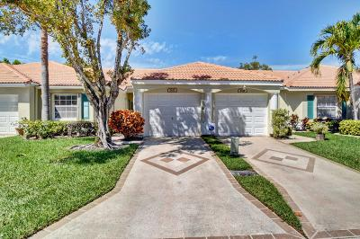 Delray Beach Single Family Home For Sale: 6121 Heliconia Road