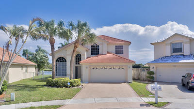 Lake Worth, Lakeworth Single Family Home For Sale: 7361 Winder Court