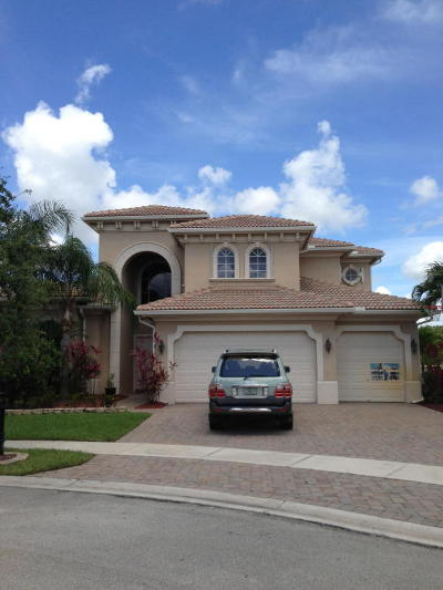 Royal Palm Beach Single Family Home Contingent: 809 Montclaire Court