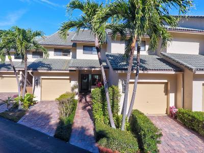 Highland Beach Townhouse For Sale: 1039 Boca Cove Lane #7
