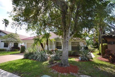 Boca Raton Single Family Home For Sale: 11074 Highland Circle