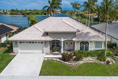 Lake Worth, Lakeworth Single Family Home For Sale: 7073 Lake Island Drive