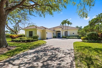 Jupiter Single Family Home For Sale: 210 Regatta Drive
