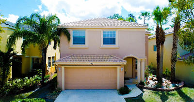 Royal Palm Beach Single Family Home For Sale: 1493 Running Oak Lane