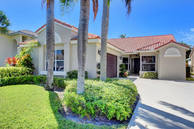 Lake Worth, Lakeworth Single Family Home For Sale: 7719 Grovewood Drive