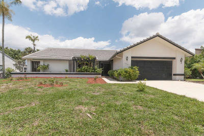 Boynton Beach Single Family Home For Sale: 2504 SW 23rd Cranbrook Drive SW