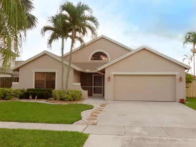 Boca Raton Single Family Home For Sale: 22478 Grouper Court