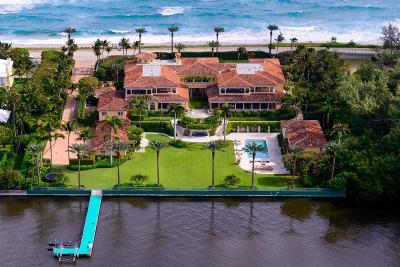 Palm Beach FL Single Family Home For Sale: $56,000,000