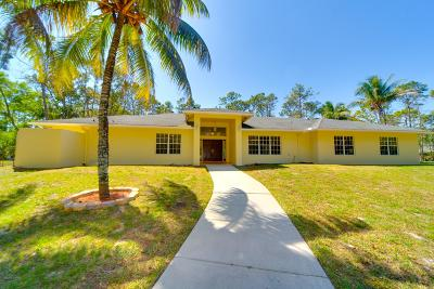 Lake Worth, Lakeworth Single Family Home For Sale: 5341 Michlar Drive