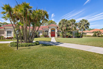 Palm Beach Gardens Single Family Home For Sale: 11711 Stonehaven Way