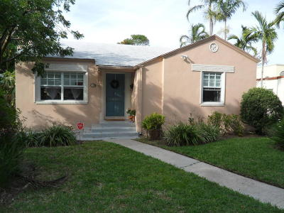 West Palm Beach Single Family Home For Sale: 431 31st Street