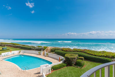 Palm Beach Condo For Sale: 3360 S Ocean Boulevard #3cii