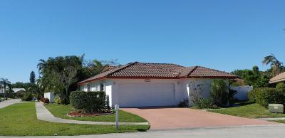 Boca Raton Single Family Home For Sale: 22875 Greenview Terrace