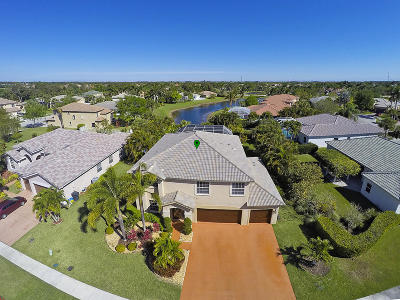 Wellington Single Family Home For Sale: 11635 Waterbend Court