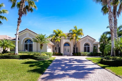 Port Saint Lucie Single Family Home For Sale: 8728 Bally Bunion Road