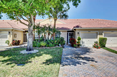 Boynton Beach Single Family Home For Sale: 12079 Napoli Lane