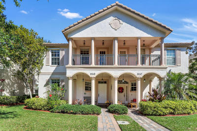 Palm Beach Gardens Townhouse For Sale: 8049 Murano Circle