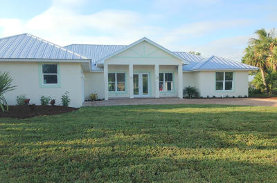 Hutchinson Island FL Single Family Home For Sale: $819,000