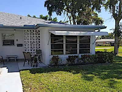 Delray Beach Single Family Home For Sale: 1110 Circle Terrace W #D