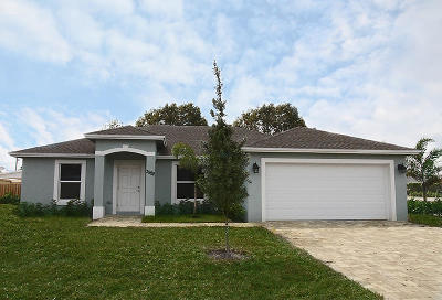 Lake Worth Single Family Home For Sale: 3386 Kirk Rd