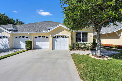 Jensen Beach Single Family Home For Sale: 3339 NE Luna Terrace