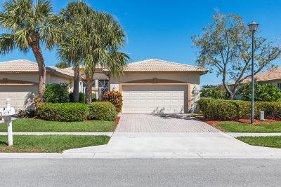 Boynton Beach Single Family Home For Sale: 5679 Emerald Cay Terrace