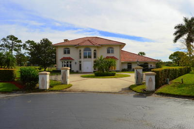 Fort Pierce Single Family Home For Sale: 9513 Shadow Lane
