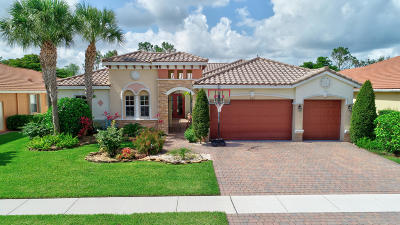 Lake Worth Single Family Home For Sale: 9762 Campi Drive