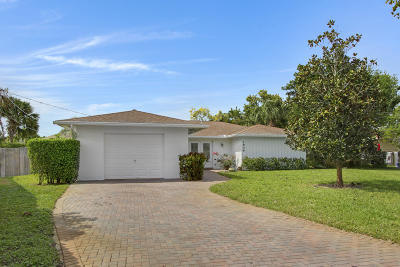West Palm Beach Single Family Home For Sale: 1909 Central Court