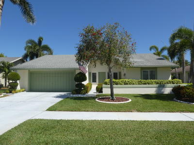 Boca Raton Single Family Home For Sale: 17670 Woodview Terrace