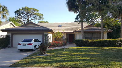 Jupiter Single Family Home For Sale: 5846 Stonewood Court