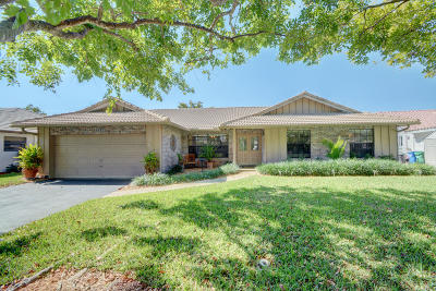 Coral Springs Single Family Home For Sale: 11418 NW 3rd Place