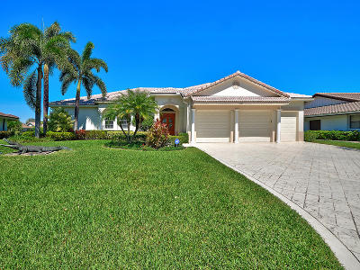 Delray Beach Single Family Home For Sale: 5087 Pineview Circle