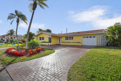 Singer Island Single Family Home For Sale: 1111 Powell Dr
