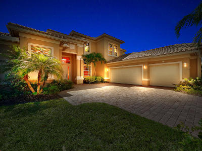 Port Saint Lucie Single Family Home For Sale: 10386 SW Azzia Way