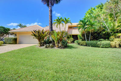Boca Raton Single Family Home For Sale: 7517 Mahogany Bend Place