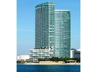Miami Rental For Rent: 888 Biscayne Boulevard #1807