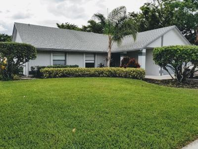 Boca Raton Single Family Home For Sale: 9222 Tivoli Place