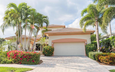 Jupiter Single Family Home For Sale: 109 Terrapin Trail