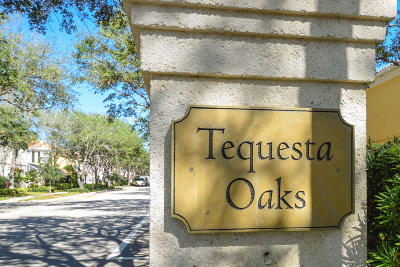 Tequesta Townhouse Contingent: 4 Live Oak Circle